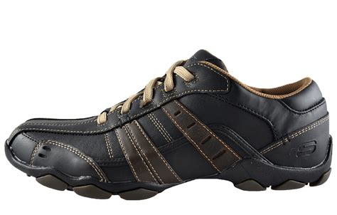 Skechers Diameter Vassell Memory Foam Casual Leather Mens