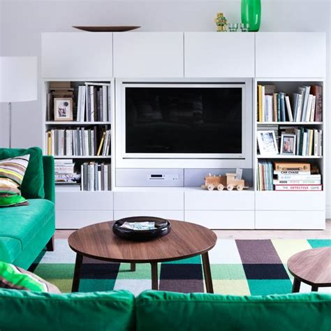 decoracion  composiciones de muebles tv  la serie