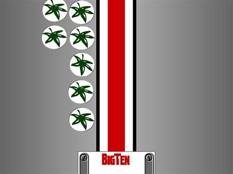 Ohio State Buckeyes Backgrounds Ohio State Football Logo Wallpaper Wallpapersafari