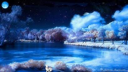 Themes Desktop Winter Background