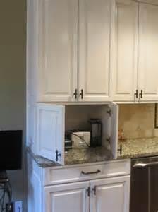 Kitchen Cabinets That Hide Appliances