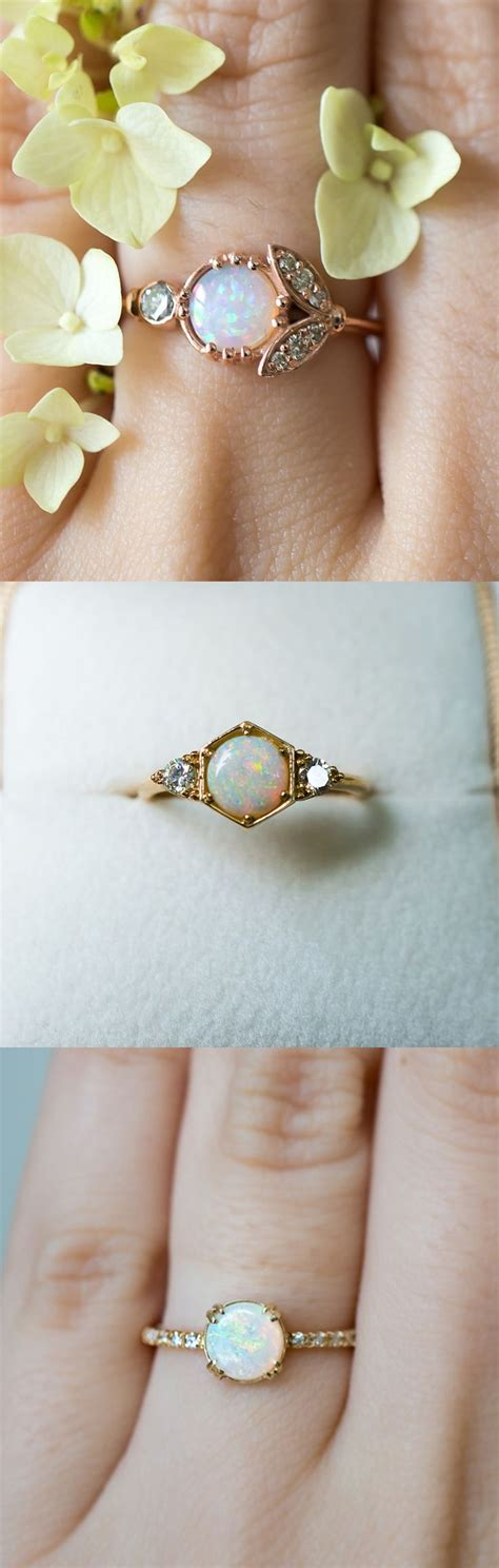 minimalist wedding rings best 25 opal engagement rings ideas on pretty rings engagement rings uk