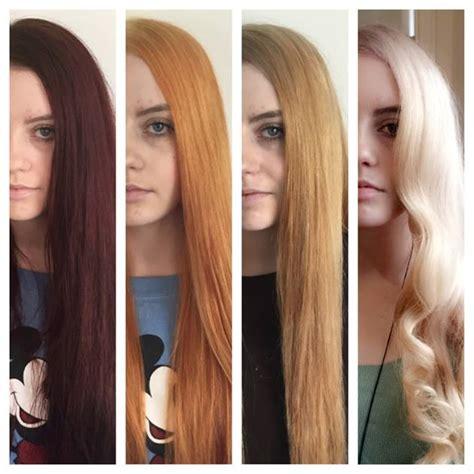 dark hair  blonde hair francesco group
