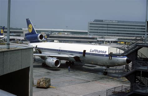 Douglas DC-10: 47927 DC-10-30 D-ADHO Lufthansa Frankfurt A ...
