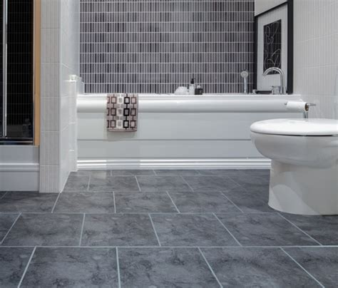 bathroom floor tile ideas  warmer effect   give