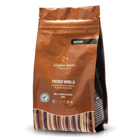 Using only 100% arabica and 100% rainforest alliance certified coffee, zavida is proud to support environmental sustainability, social responsibility and 100% great taste with our worldwide exclusive. French Vanilla - Whole Beans   Gloria Jeans Coffees ...