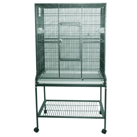 indoor bird cage indoor aviary bird cage stand for smaller birds by ae 32x21 platinum 19301061054p 229 00