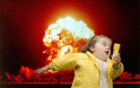 Running Kid Meme - running kid with explosion blank template imgflip