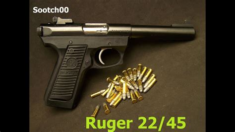 Ruger 2245 Pistol Review Youtube