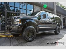 Ford Excursion with 18in Black Rhino Arsenal Wheels