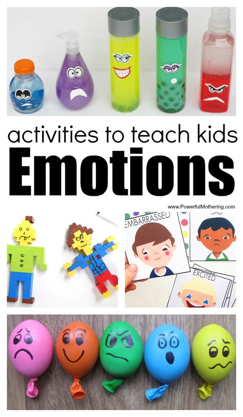 30 activities and printables that teach emotions for 307 | Activities and Printables about Emotions for Kids
