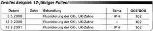 Abrechnung Privatpatienten Goä : abrechnung nach bema und goz fluoridanwendung und fissurenversiegelung eine gegen berstellung ~ Themetempest.com Abrechnung