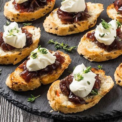 toast au foie gras  chutney aux figues recette repas