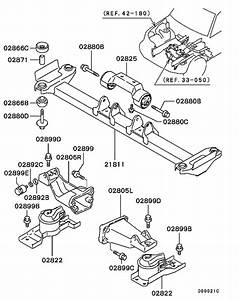 Engine Mounting  U0026 Support For 2001