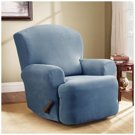 sure fit furniture covers sure fit stretch pearson recliner slipcover 292825