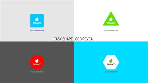 Easy Shape Logo Reveal By Marnica