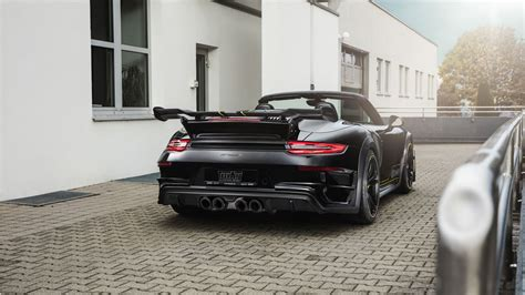 techart porsche  turbo gt street  cabriolet