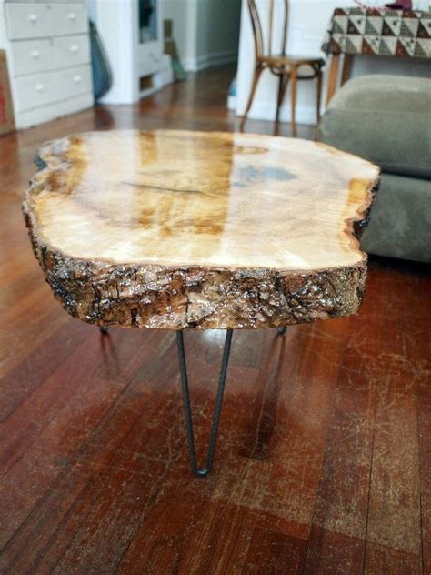 wood stump table coffee table wood