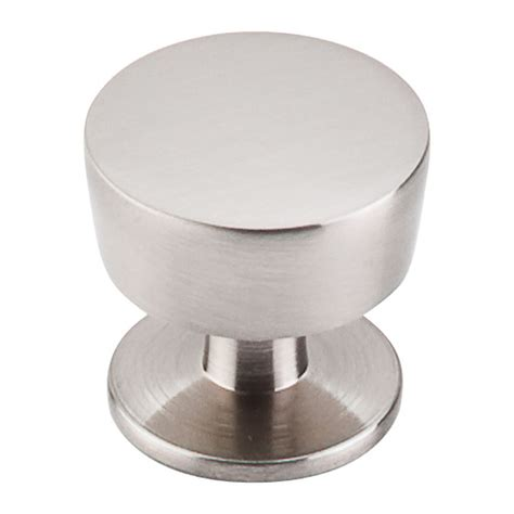 Modern Cabinet Knob In Brushed Satin Nickel Finish M1122