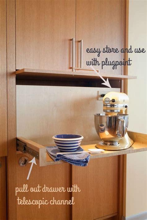 small kitchen appliance storage 17 best ideas about kitchen appliance storage on 5409