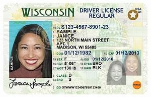 fake id trainers With wisconsin drivers license template
