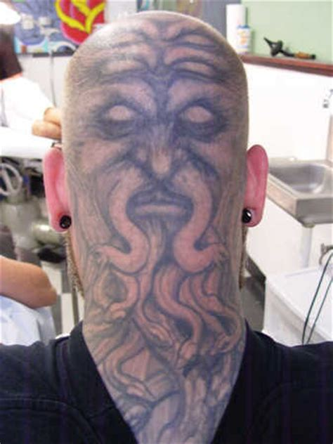 orignal owl head tattoo