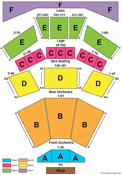 filene center seating chart wolf trap beautiful filene center seating chart wolf trap bestplitka 49105