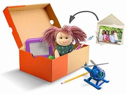 Shoebox Pack Christmas Operation Child Toys Clipart
