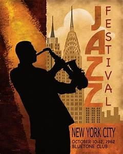 1962 Jazz in New York ~ Fine-Art Print - Vintage Jazz Art ...