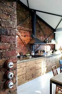 Les 25 meilleures idees concernant cuisine en bois sur for Idee deco cuisine avec meuble tv bois massif