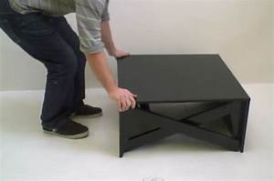 Table Basse Transformable En Table Haute : table transformable montreal ~ Teatrodelosmanantiales.com Idées de Décoration