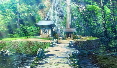 Wallpaper Nature Anime - japanese anime nature rural wallpaper no 370162