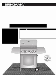 Brinkmann Gas Grill Stainless Steel 4 Burner Gas Grill