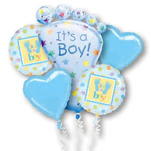 birthday flower delivery its a boy mylar party balloon bouquet inflated balloon