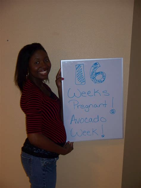 First King Baby On The Way 16 Weeks Pregnant Avocado Week