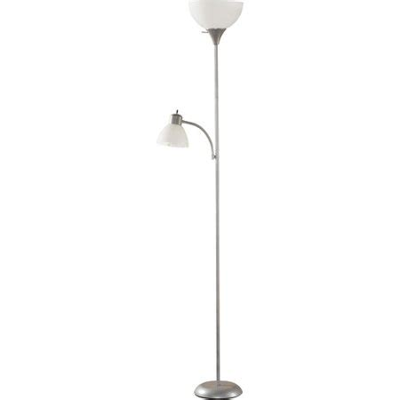 Walmart Reading Light by Mainstays Silver Floor L With Reading Light And Cfl