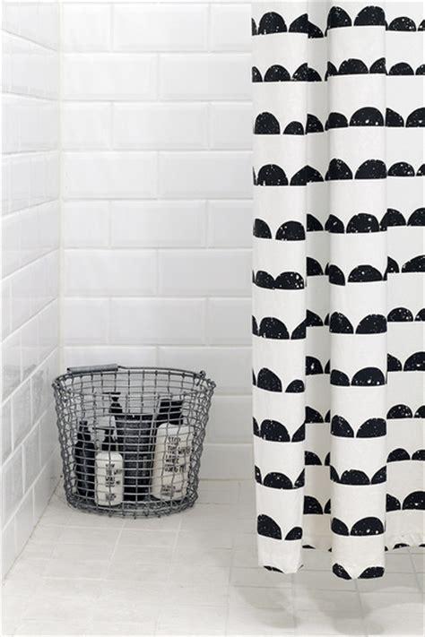 ferm living half moon shower curtain http www