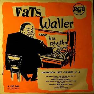 Vol 1 by Fats Waller And His Rhythm, 10inch with ...
