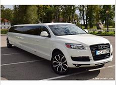 Used 2008 Audi Q7 SUV Stretch Limo Pinnacle Limousine