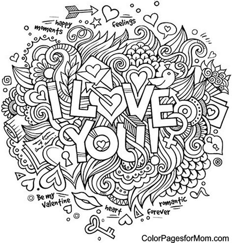 Coloring Doodle by Doodles 31 Advanced Coloring Pages