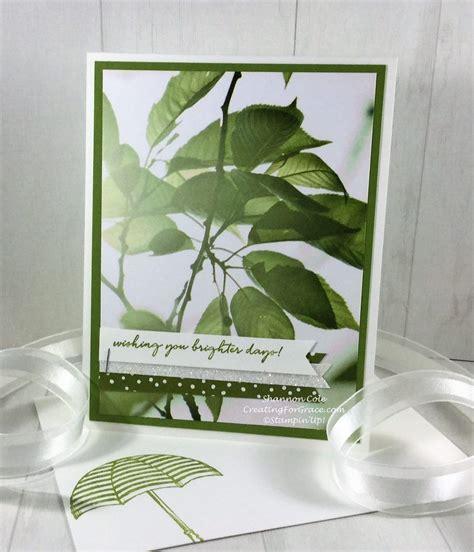 stampinup serene scenery wishing  brighter days card