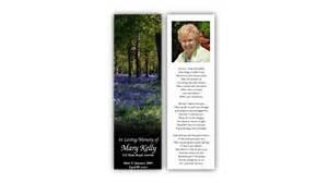 funeral booklets memorial bookmarks hassan funeral director