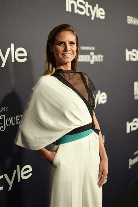 Heidi Klum Goes Flames The Instyle Awards Tom