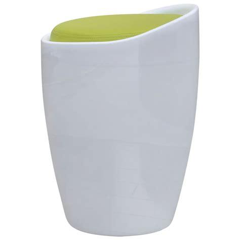 siege rond acheter tabouret abs rond blanc avec si 232 ge amovible vert