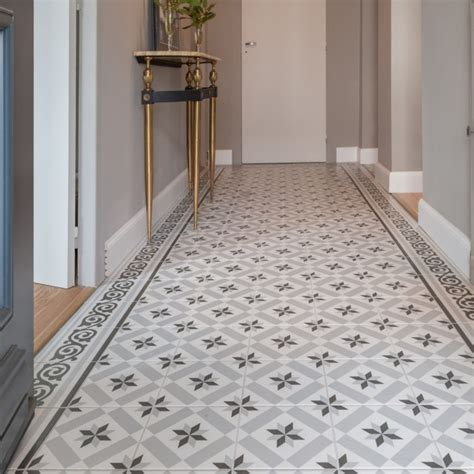 ciment blanc leroy merlin d 233 co carrelage aspect carreaux ciment revisit 233 s abk docks carrelages du marais leroy merlin