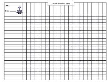 student record sheet  mediab teachers pay teachers