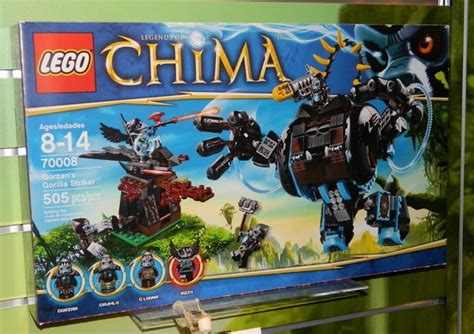 Lego Chima Gorzan's Gorilla Striker 70008 Revealed