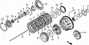 Honda Motorcycle 1984 Oem Parts Diagram For Clutch