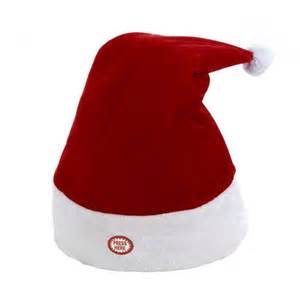 battery operated animated santa hat shopko
