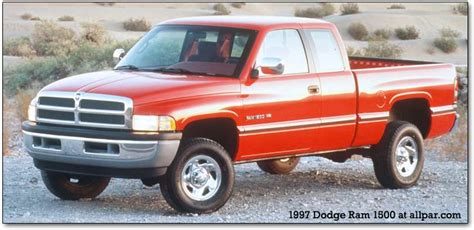 1994 2001 Dodge Ram pickup trucks